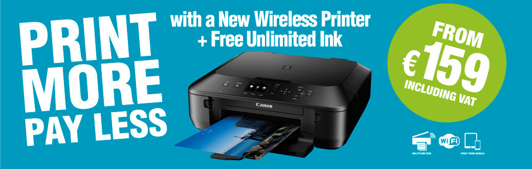Free unlimited printer ink offer